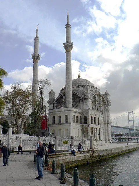 Ortakoy Mosque - Bosphorus Bridge