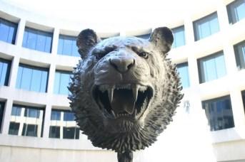 "Tiger from Ai Weiwei's ""Zodiac Heads"" Series"