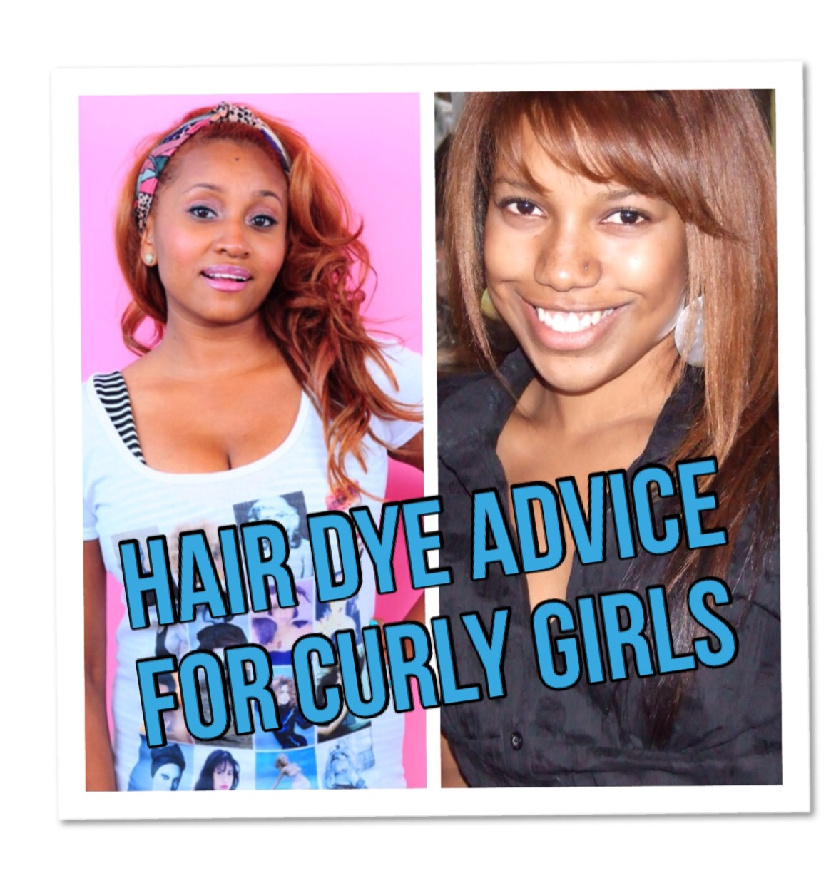 MISS ANDREA LEWIS | (New Video Post) Hair Color Advice for Curly ...