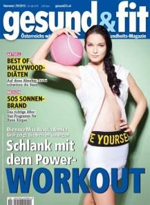 Cover gesund&fit Magazin