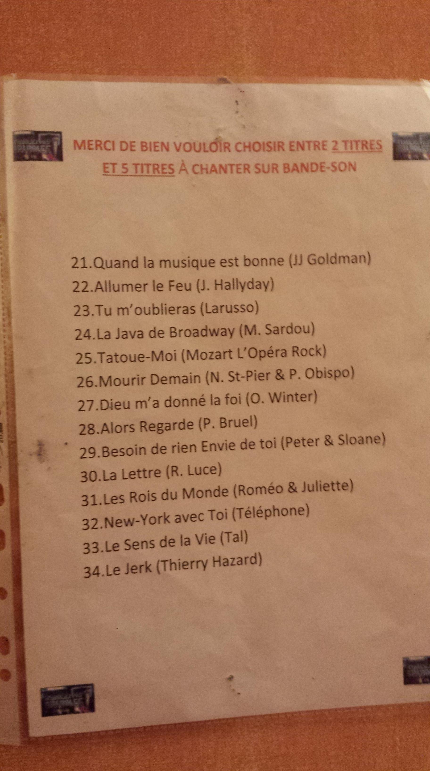 Casting N'oubliez pas les paroles (France 2) - Inscrivez