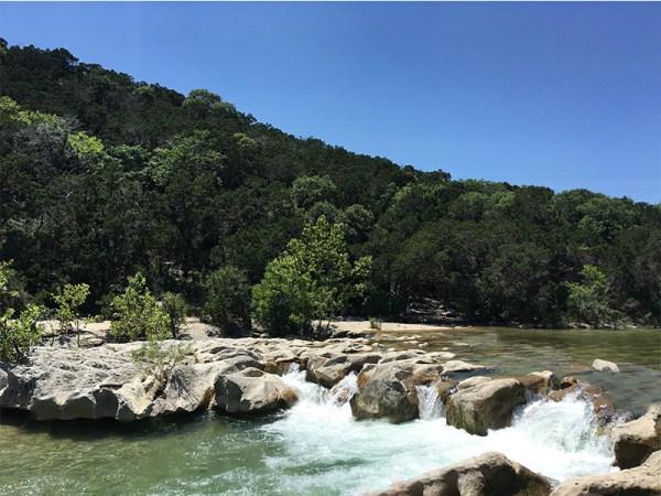 The Barton Creek Greenbelt, Austin TX