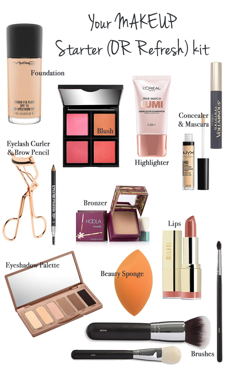 Your Makeup Starter (or Refresh) Kit