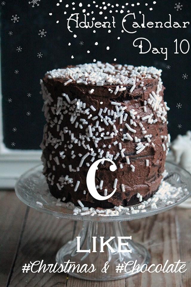 chocolatechristmascake