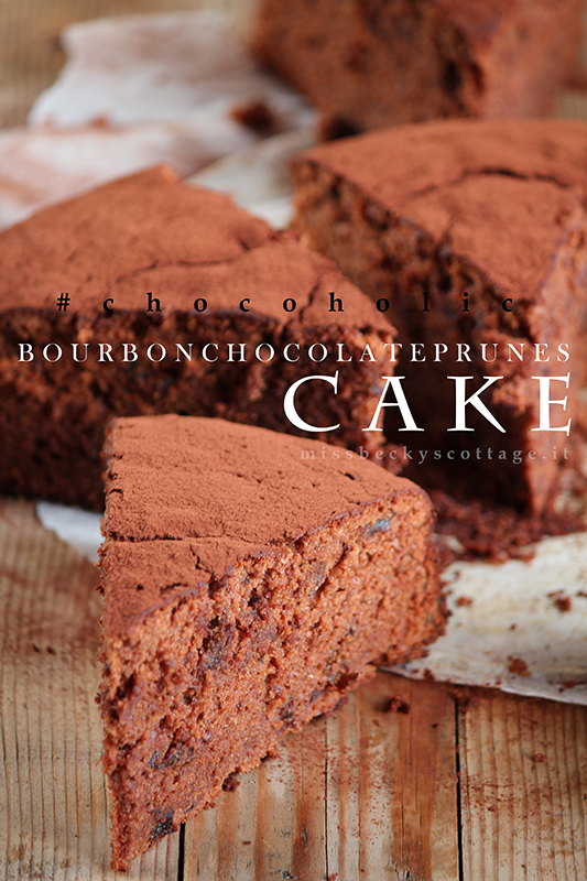 bourbon prunes chocolate cake