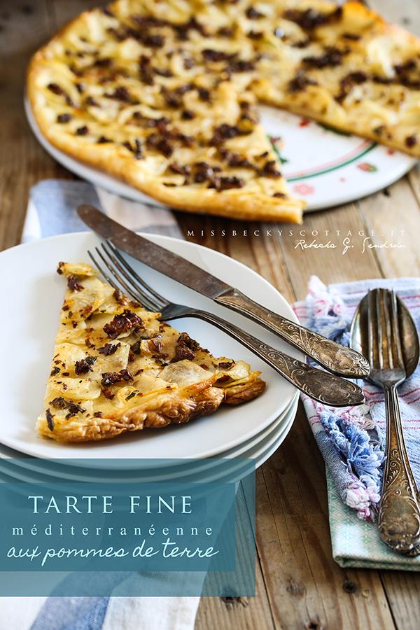 potatoes tarte fine