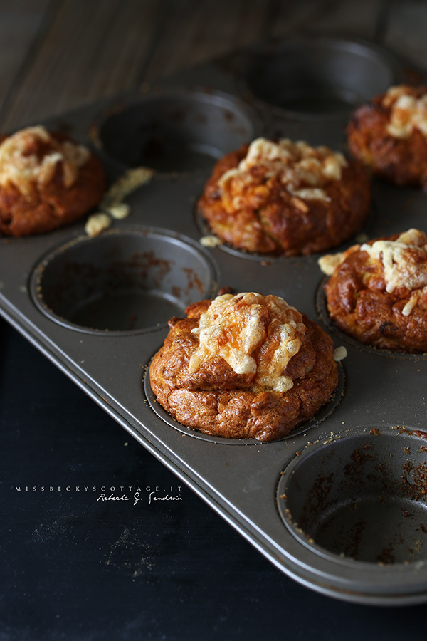 red leicester muffins
