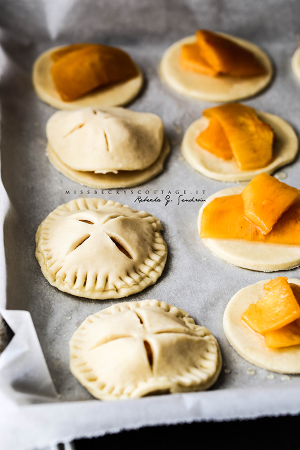 persimmon hand pies