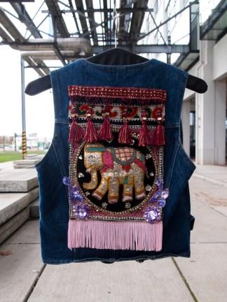 elephant india girl girls tribal vintage denim fashion musthave
