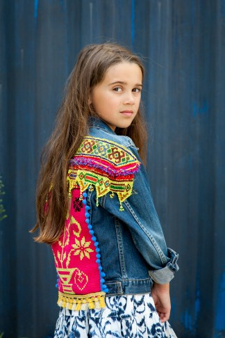 vintage levis levi kidswear girls girl kid gypsy gypsygirls gypsykids colorful edgy pink ethnic boho bohemian bohofashion