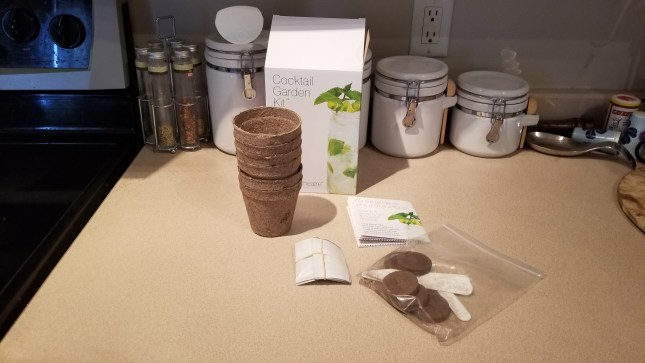 Everything from my Plant Theatre cocktail herb kit!