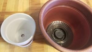 Pots that drain!
