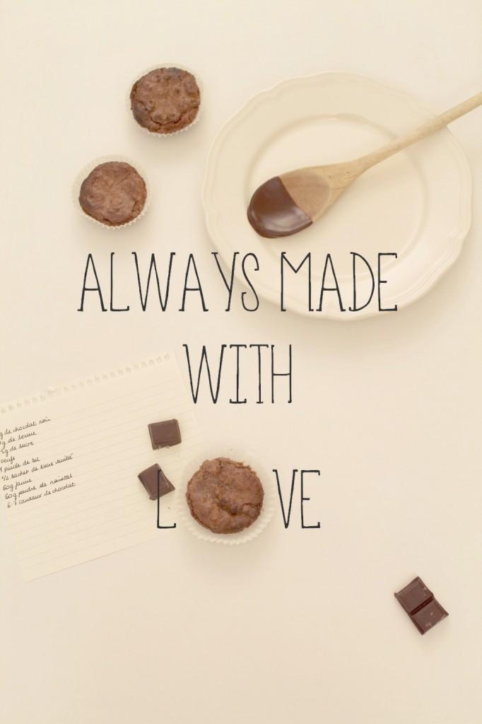 De vilains petits moelleux chocolat-noisettes ont copié sur le Nutella - Recette - Miss Blemish