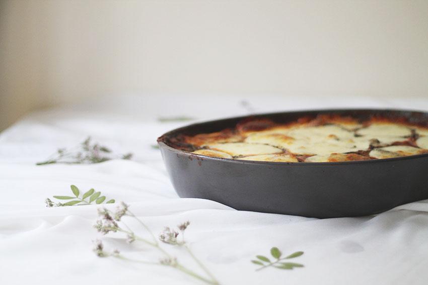 Ma moussaka au boeuf - Cuisine - Miss Blemish