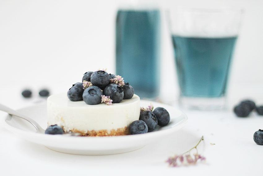 Les Boréales - Blue Mood : Le cheesecake myrtilles x violette - Miss Blemish