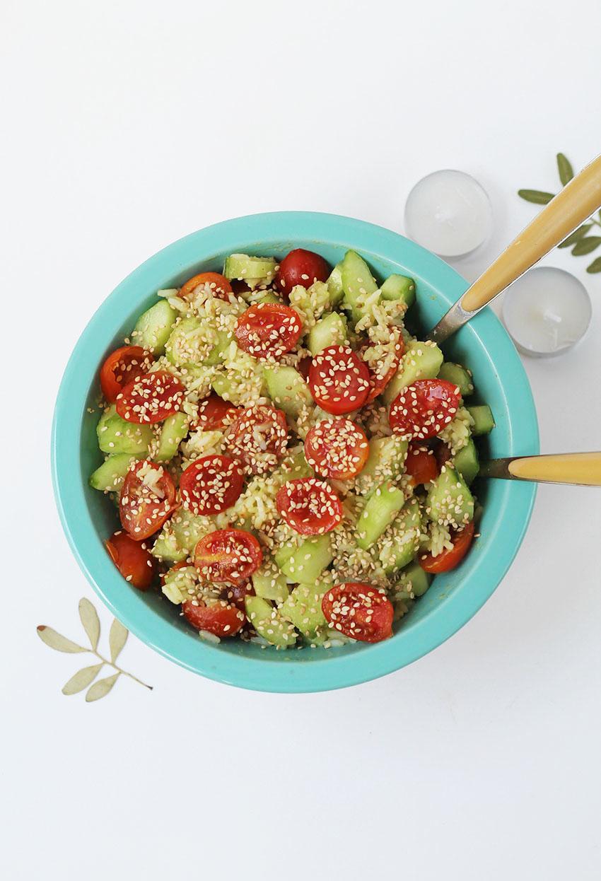 Mes salades composées goût guacamole - Cuisine saine - Miss Blemish