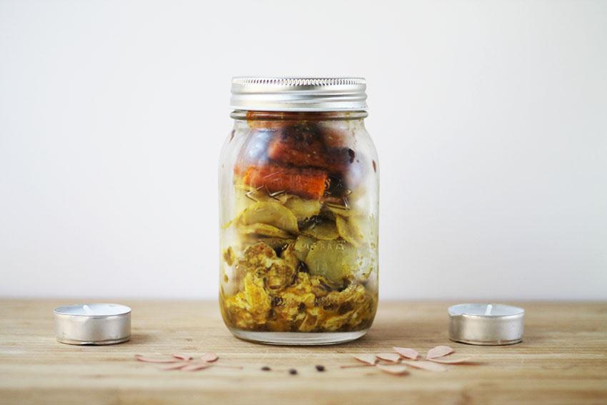 Mes petits plats complets - Poulet rôti aux épices & Carottes et Pommes de terre d'automne - recette cuisine - Miss Blemish