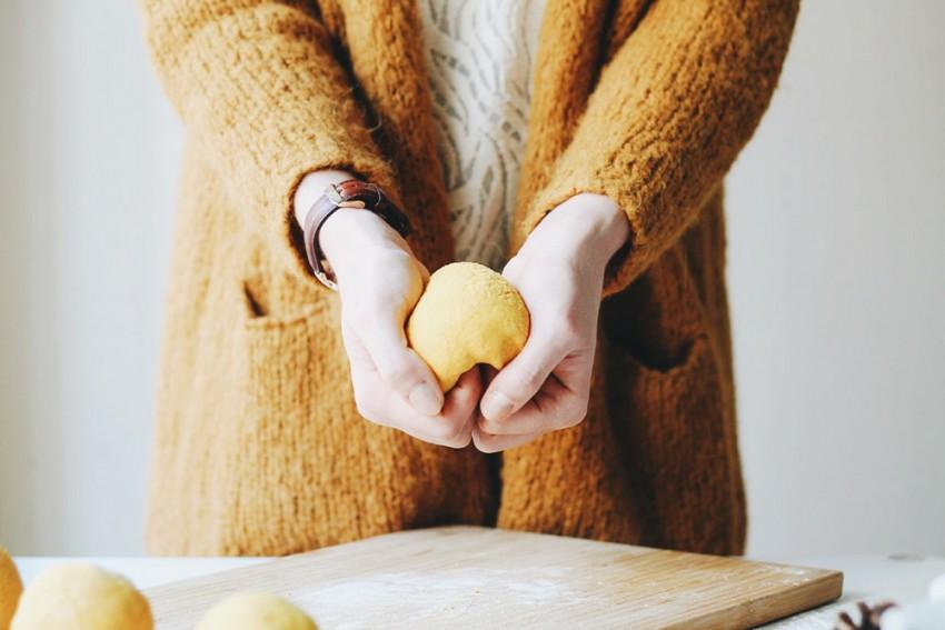 La pâte à sel moutarde - DIY écologie Noël - Miss Blemish