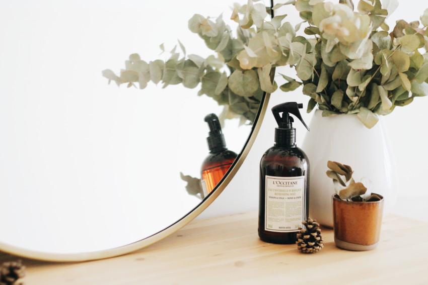 DIY Un miroir rond doré - Décoration intérieure - Miss Blemish