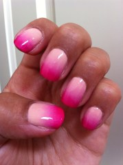 ombre nails bombshell