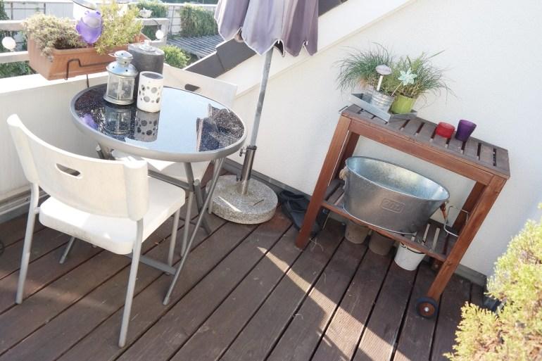 Balkon verschönern modern weiß herbst Missbonnebonne Lifestyleblog bonn (5)