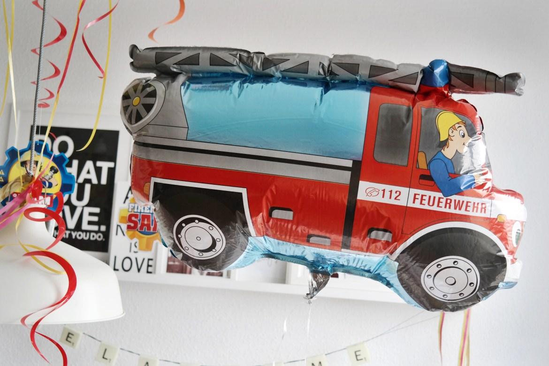Feuerwehrmann Sam Party Kindergeburtstag
