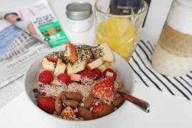 Frühstück Porridge