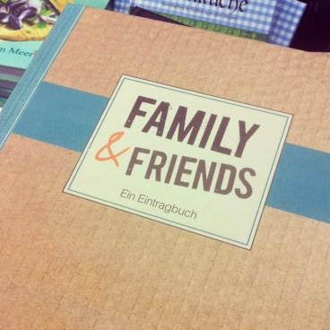 Familiy Friends Freundebuch