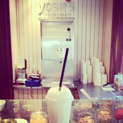 Dehly&deSAnder Yosies frozen yogurt