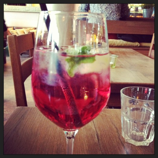 Gin Tonic Grenadine