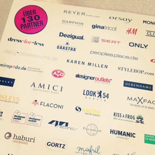Glamour Shopping Week 2013 blog