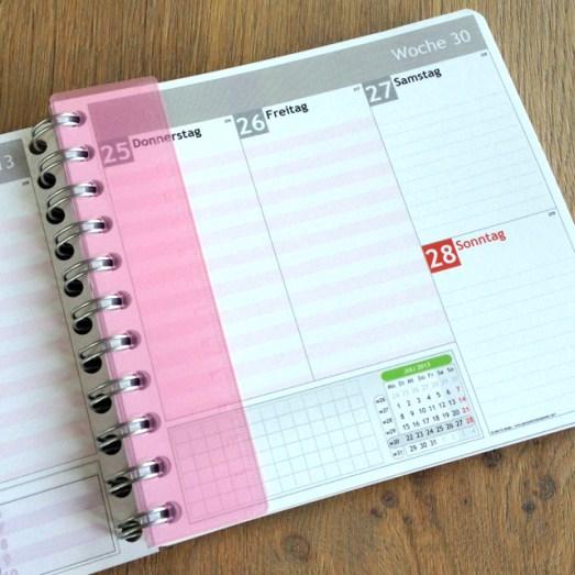 mein persönlicher kalender customizen
