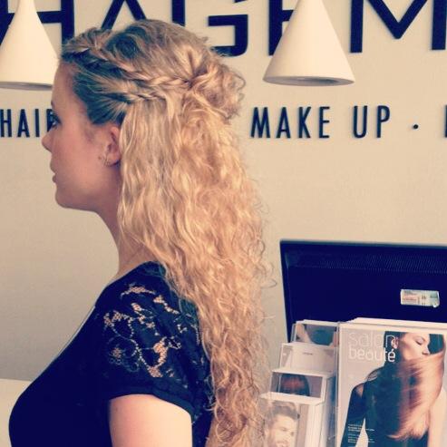 Hagemann Friseur locker feststecken romantik sommer locken lange haare