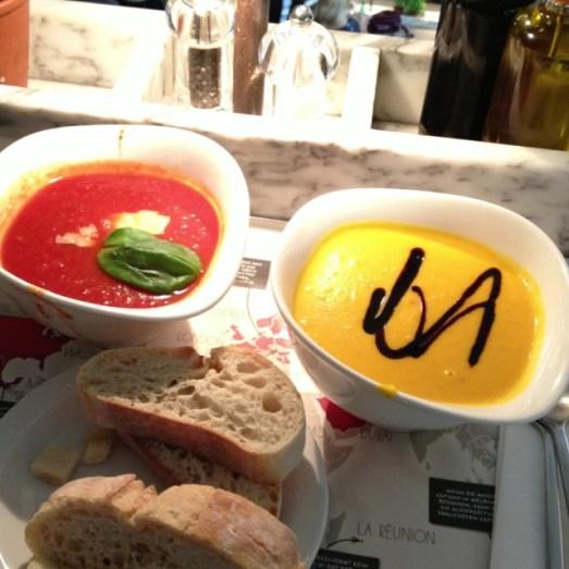 Vapiano Berlin Mittelstraße Suppen Tipp Empfehlung Erfahrung Essen Trinken