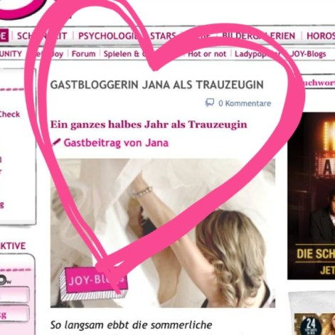 Joy Blog Gastbloggerin  Magazin