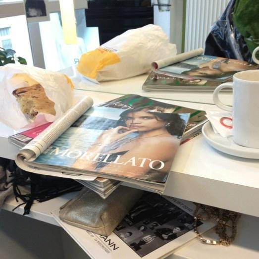 Hagemann Hair & Beauty Haarmodel Azubine Erika Haare glatt  Azubimodel Strähnchen Friseur Bonn