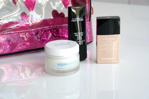 MissBonneBonne Beautylieblinge Börlind Aquatherm Feuchtigkeitscreme MAC Prepn Prime LSF 50 Chanel Vitalmiere Make up empfehlung
