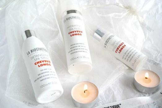 LaBiosthetique silky hair spa detangling spry shampoo hydrating spa fluid activating lotion Haaröl Haarmaske Hair Oil