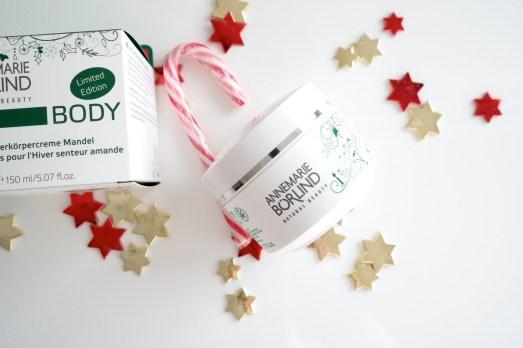 Weihnachtsgeschenke Kosmetik Beauty beste Freundin Mama Mutter Schwester Weihnachten Geschenkideen NAturkosmetik Annemarie Börlind Limited Edition Körpercreme