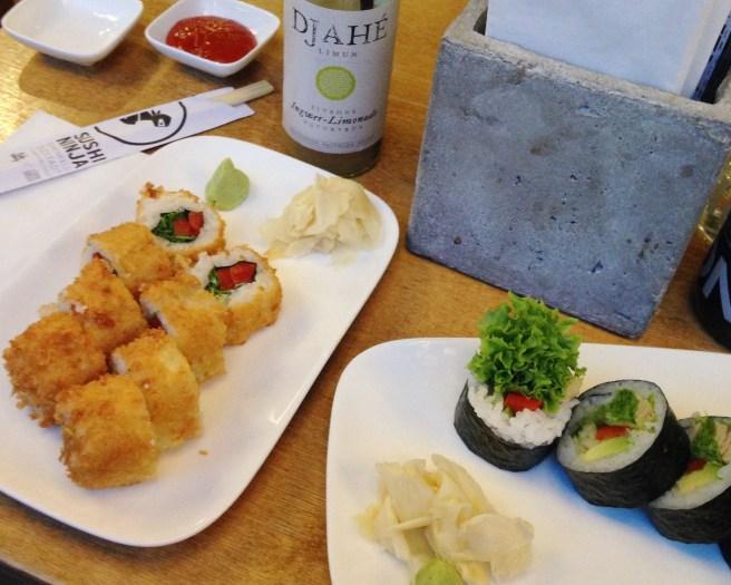 Sushi bei Sushi Ninja in Köln in der Bonner Straße