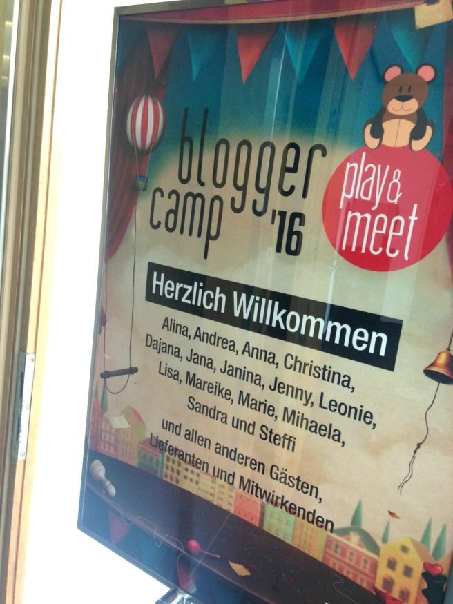 Kaufhof Blogger Camp 2016 Köln Mamablogger Spielwaren Bloggerevent willkommen