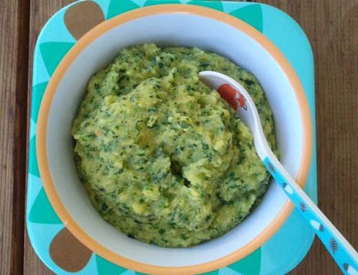 Polenta mit Spinat