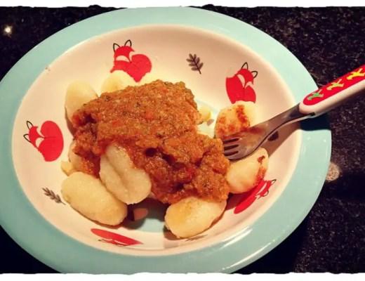 Gnocchi mit Tomatensauce, Kinderrezept