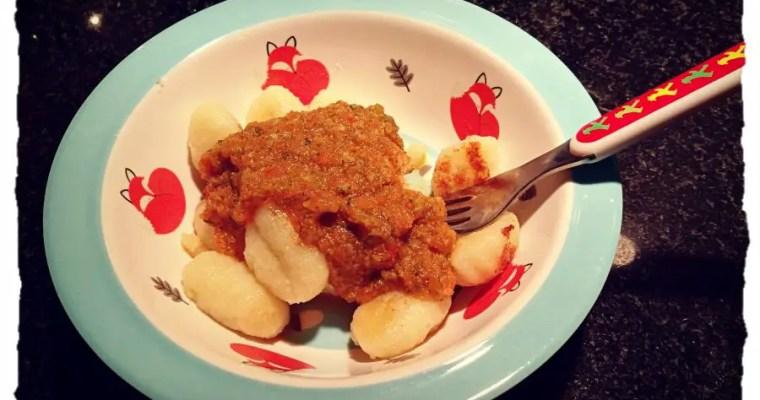 Gnocchi mit Gemüsesauce – auch für Gemüseverweigerer geeignet