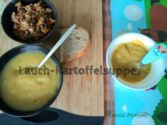 Lauch-Kartoffelsuppe