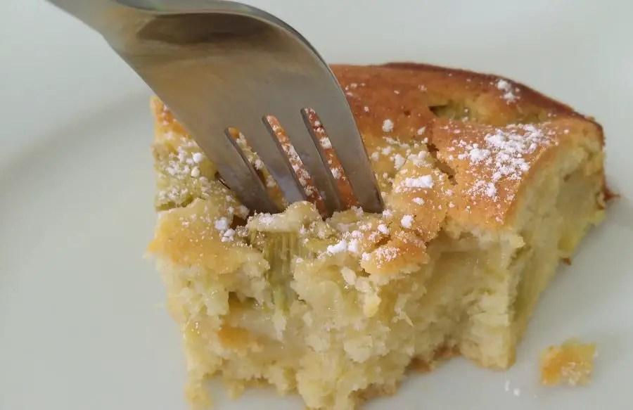 Der beste Rhabarber-Vanillekuchen