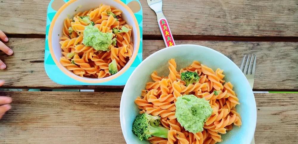 linsen pasta mit broccoli pesto testbericht miss broccoli. Black Bedroom Furniture Sets. Home Design Ideas