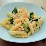 Auflauf aus Pasta- und Gemüse Resten