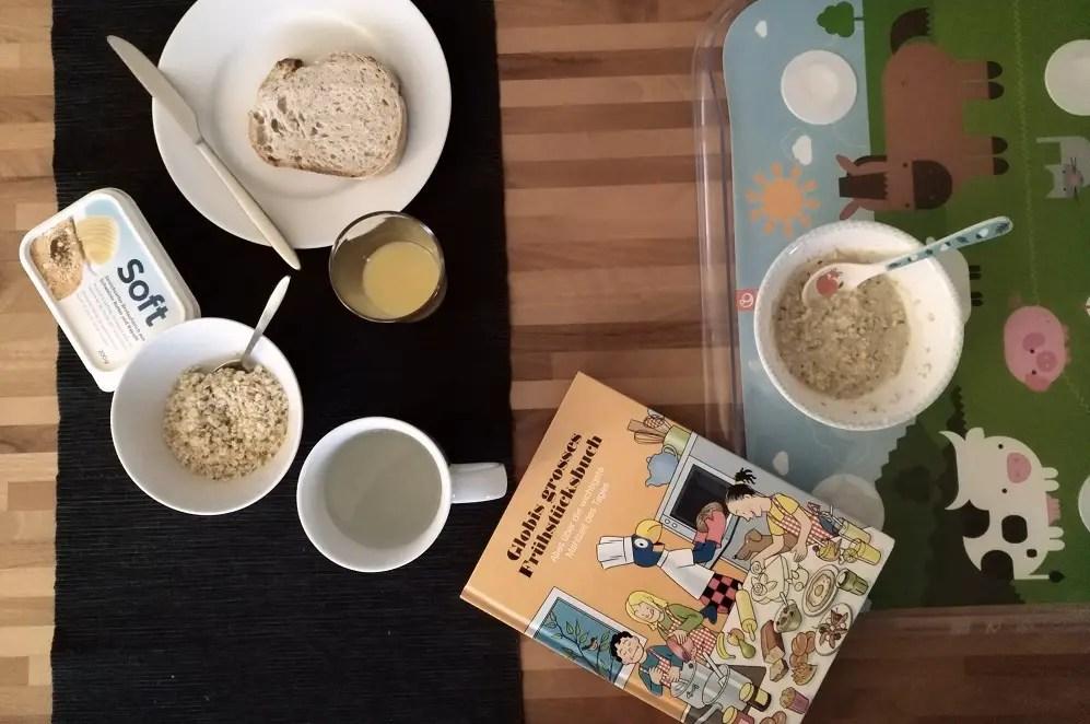 Globi Frühstücksbuch kinder essen kochen rezepte