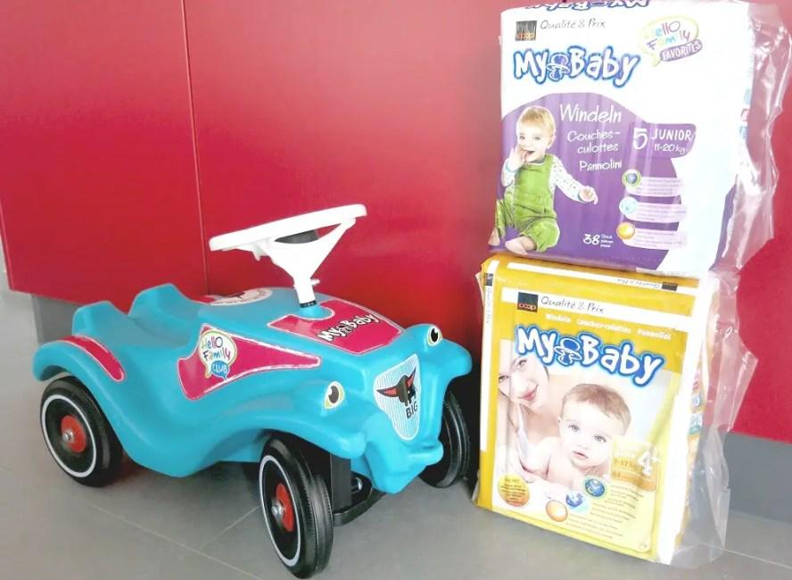 bobby car und windeln von may baby